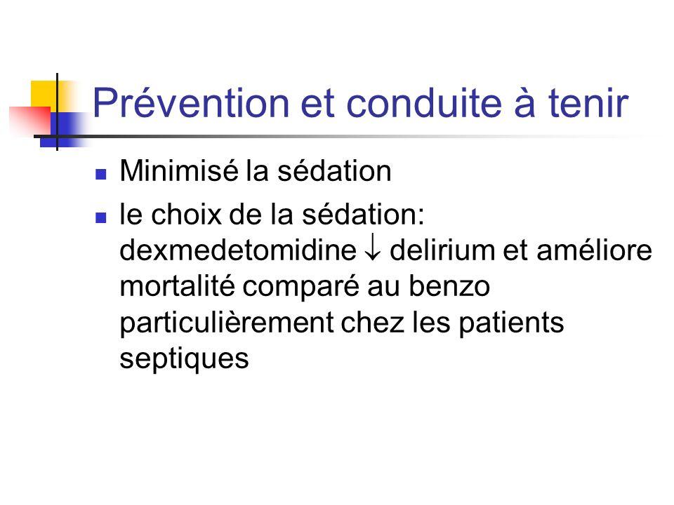 Prévention et conduite à tenir