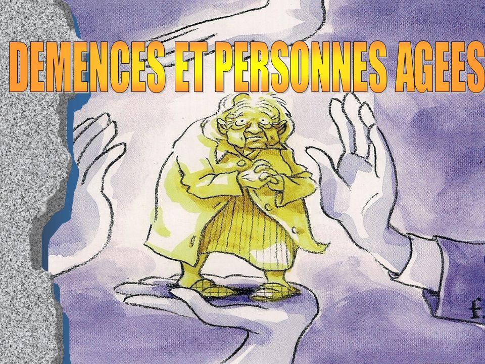 DEMENCES ET PERSONNES AGEES