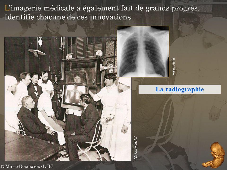 L'imagerie médicale a également fait de grands progrès.