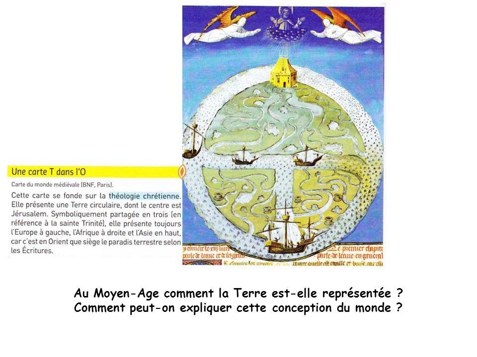 Au Moyen-Age comment la Terre est-elle représentée