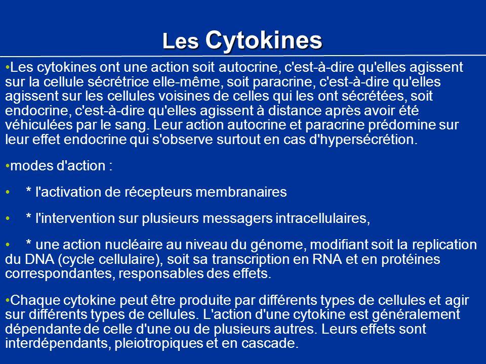 Les Cytokines