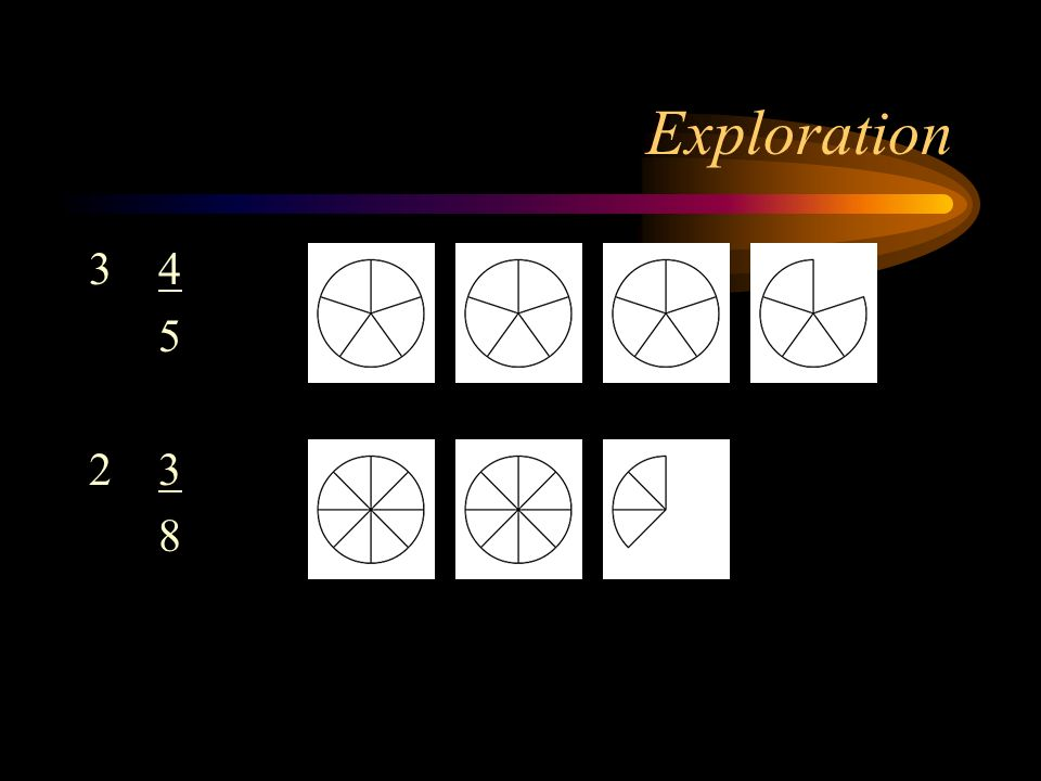 Exploration 3 4 5 2 3 8