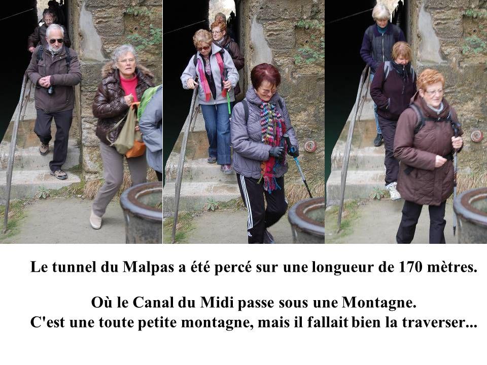 Le tunnel du Malpas a été percé sur une longueur de 170 mètres