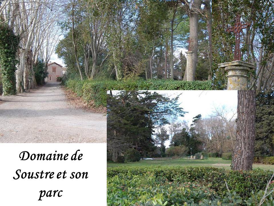 Domaine de Soustre et son parc