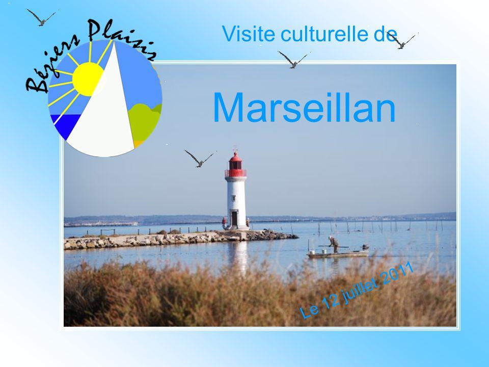 Visite culturelle de Marseillan Le 12 juillet 2011