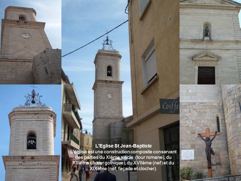 L'Eglise St Jean-Baptiste L église est une construction composite conservant des parties du XIème siècle (tour romane), du XIIIème chœur gothique), du XVIIème (nef) et du XIXème (nef, façade et clocher).