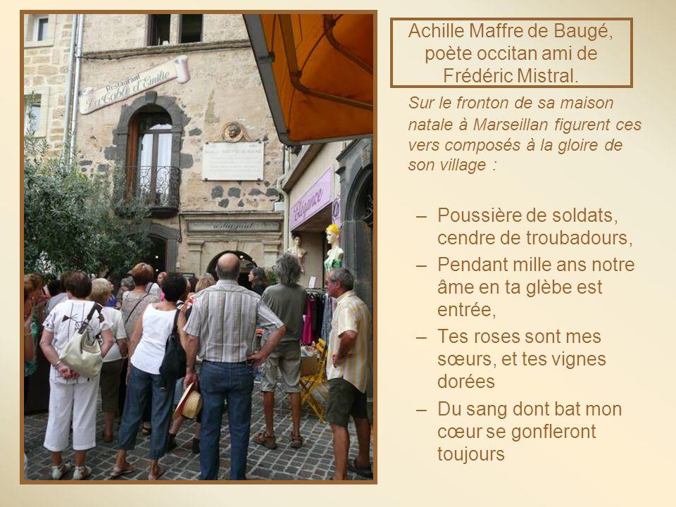 Achille Maffre de Baugé, poète occitan ami de Frédéric Mistral.