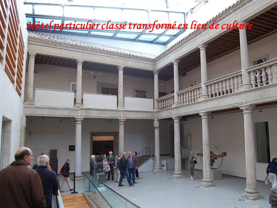 Hôtel particulier classé transformé en lieu de culture