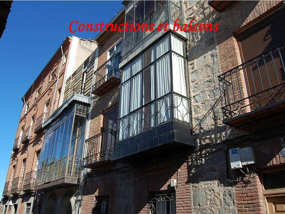 Constructions et balcons