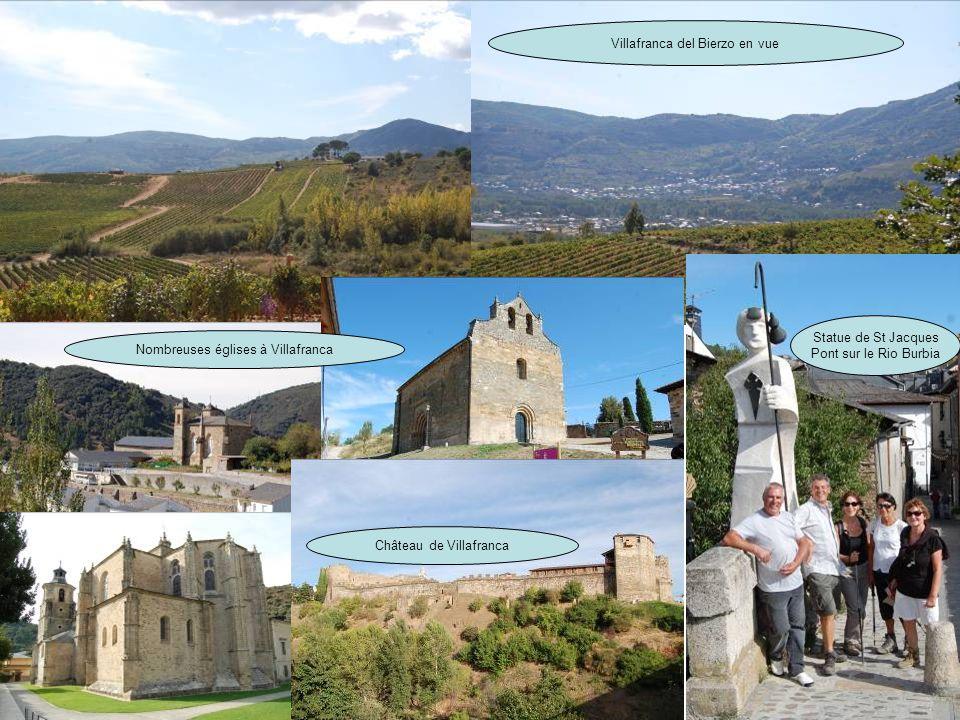 Villafranca del Bierzo en vue