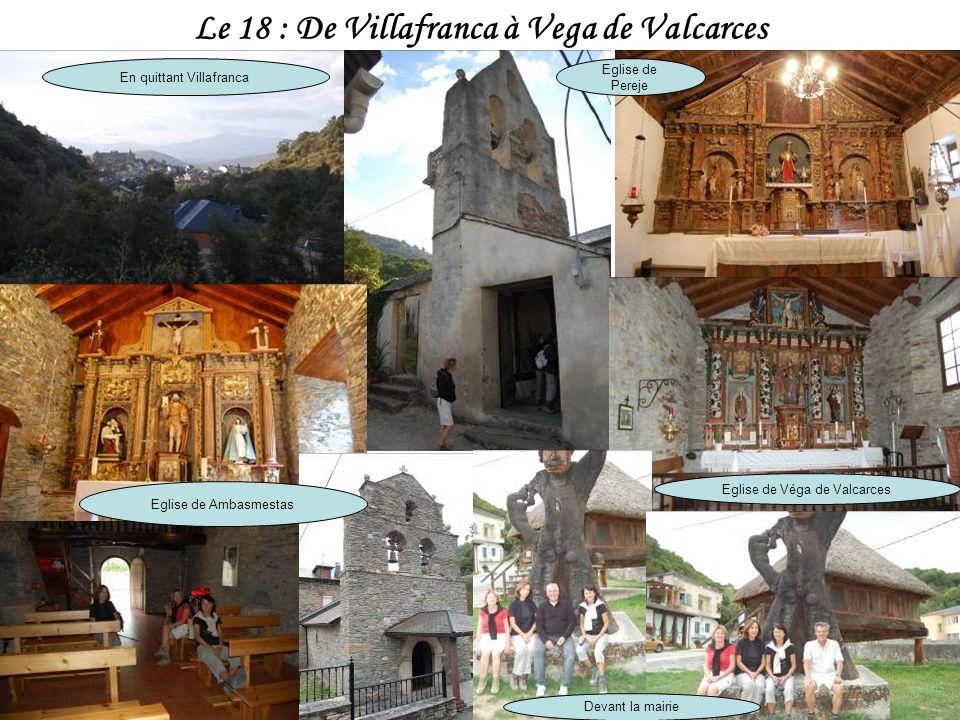 Le 18 : De Villafranca à Vega de Valcarces