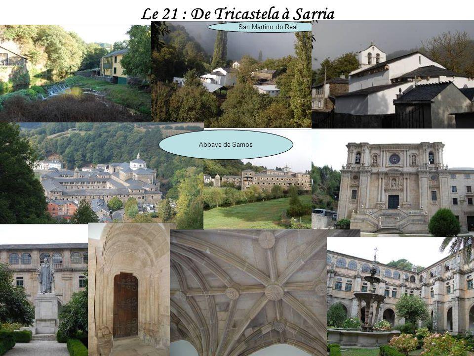 Le 21 : De Tricastela à Sarria