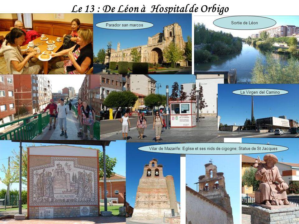 Le 13 : De Léon à Hospital de Orbigo