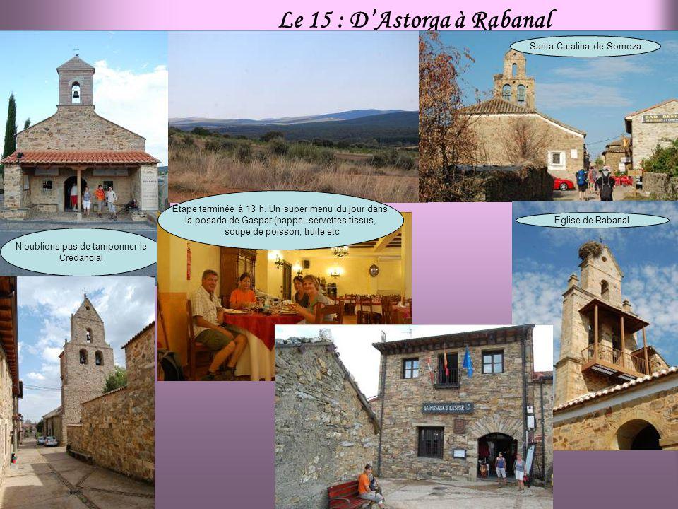 Le 15 : D'Astorga à Rabanal