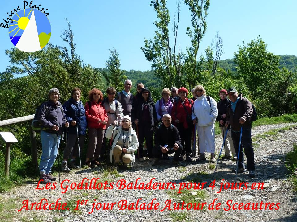 Les Godillots Baladeurs pour 4 jours en Ardèche