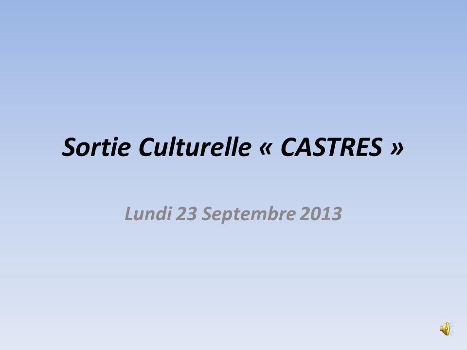 Sortie Culturelle « CASTRES »