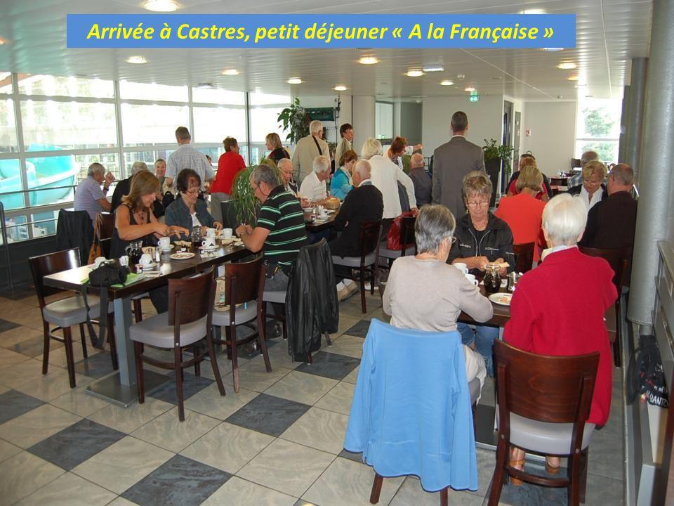Arrivée à Castres, petit déjeuner « A la Française »