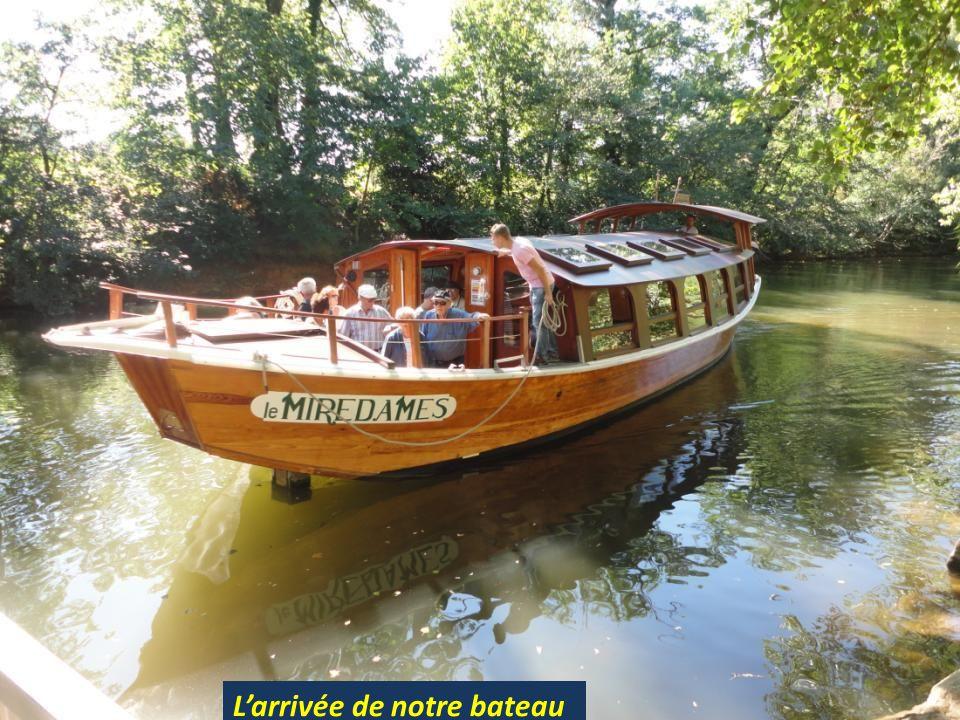 L'arrivée de notre bateau