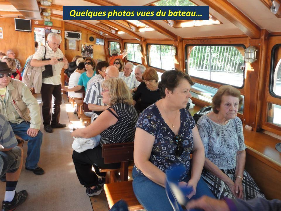 Quelques photos vues du bateau…