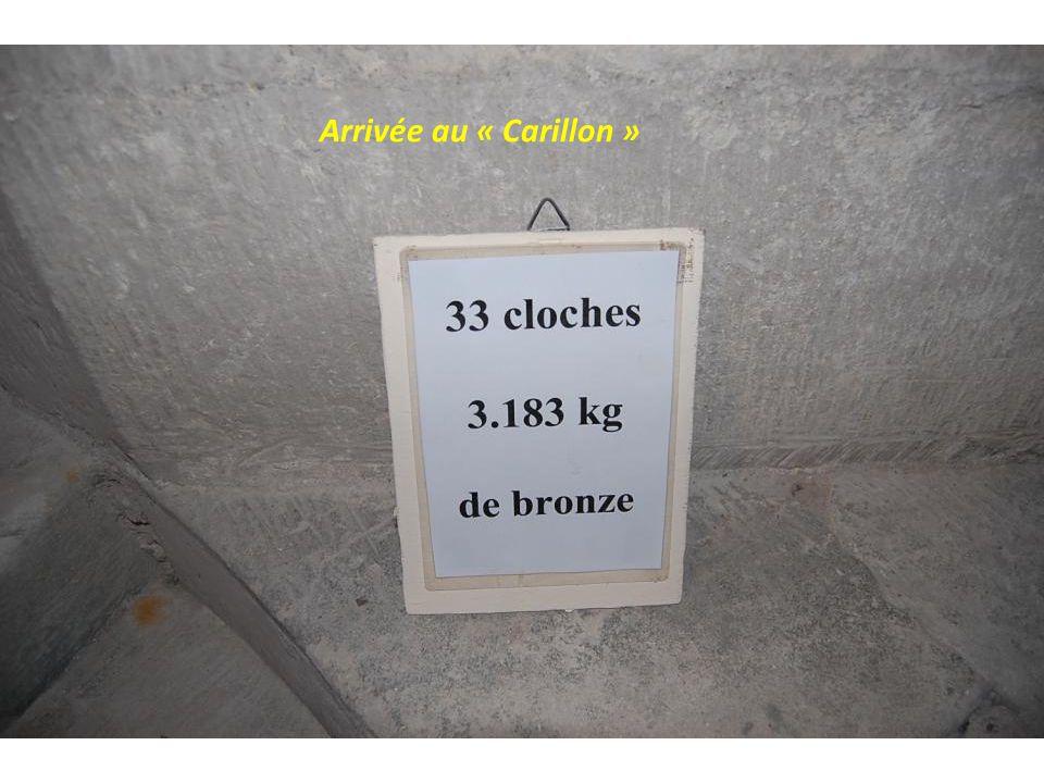 Arrivée au « Carillon »
