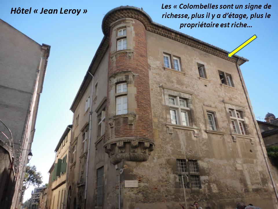 Les « Colombelles sont un signe de richesse, plus il y a d'étage, plus le propriétaire est riche…