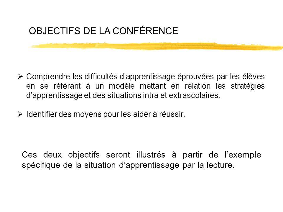 OBJECTIFS DE LA CONFÉRENCE