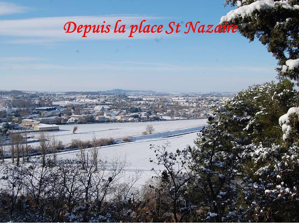 Depuis la place St Nazaire