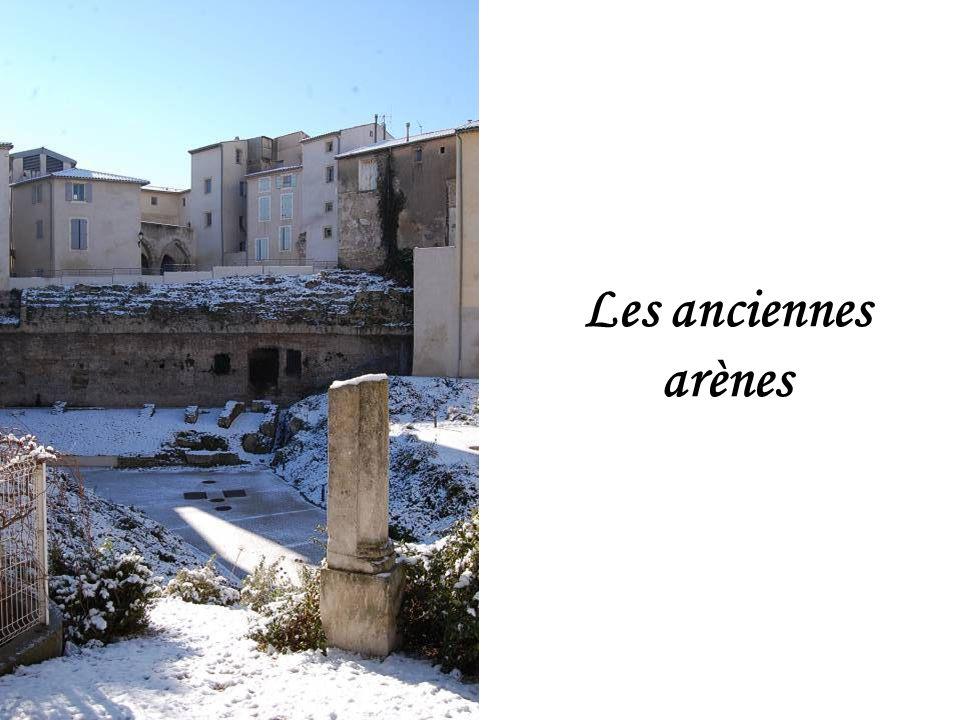 Les anciennes arènes