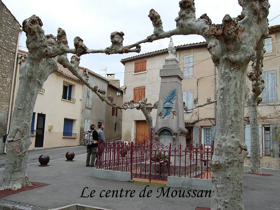 Le centre de Moussan
