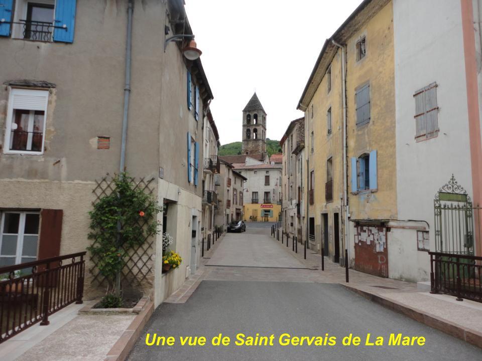 Une vue de Saint Gervais de La Mare