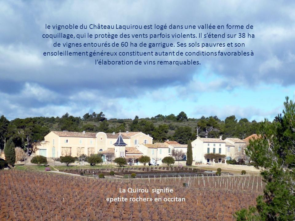 La Quirou signifie «petite rocher» en occitan