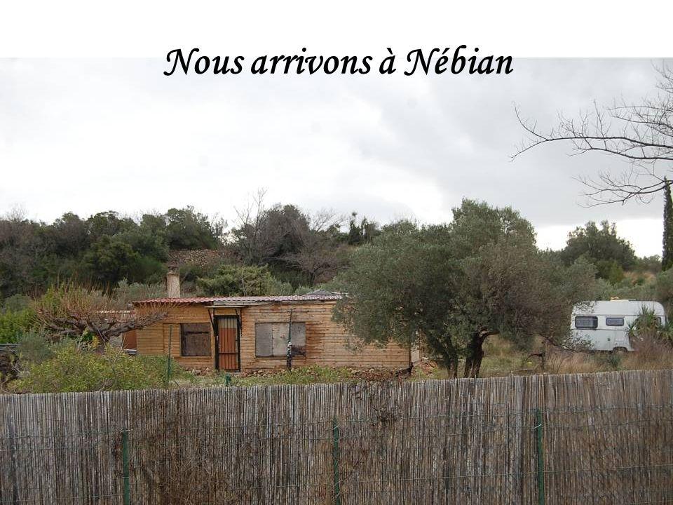Nous arrivons à Nébian