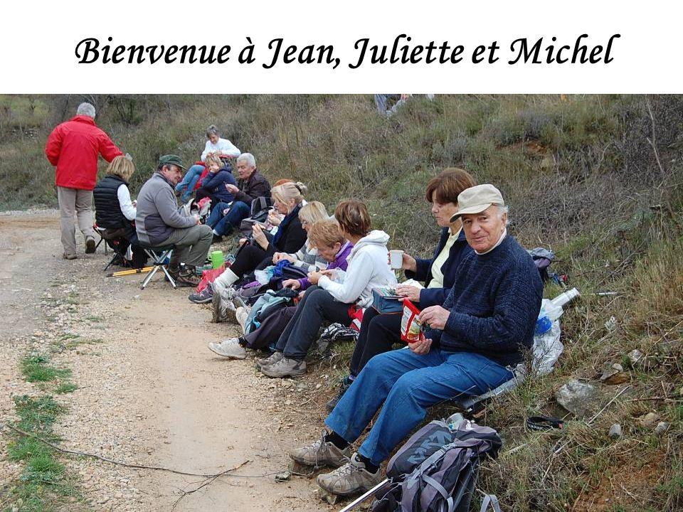 Bienvenue à Jean, Juliette et Michel