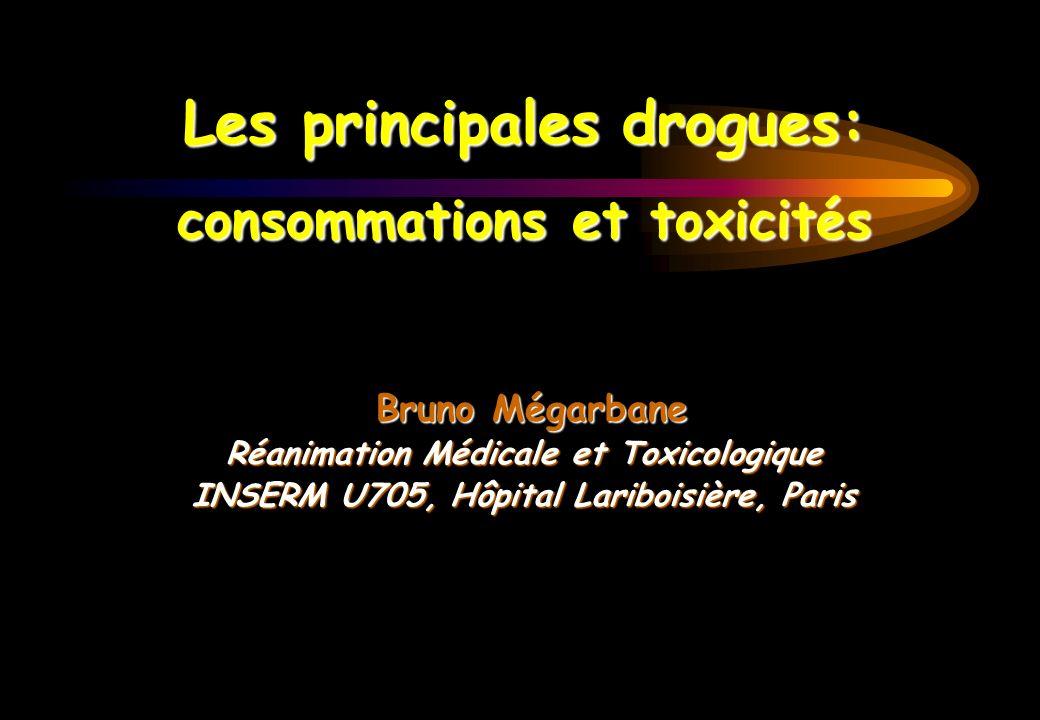 Les principales drogues: