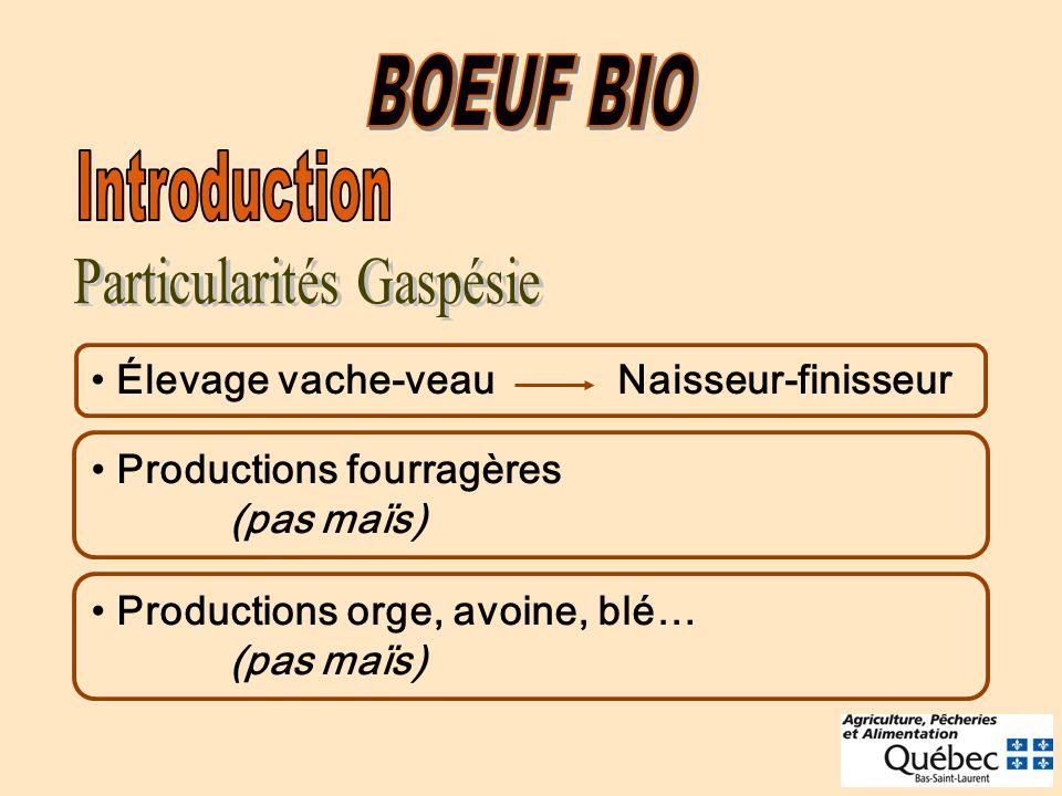 Particularités Gaspésie