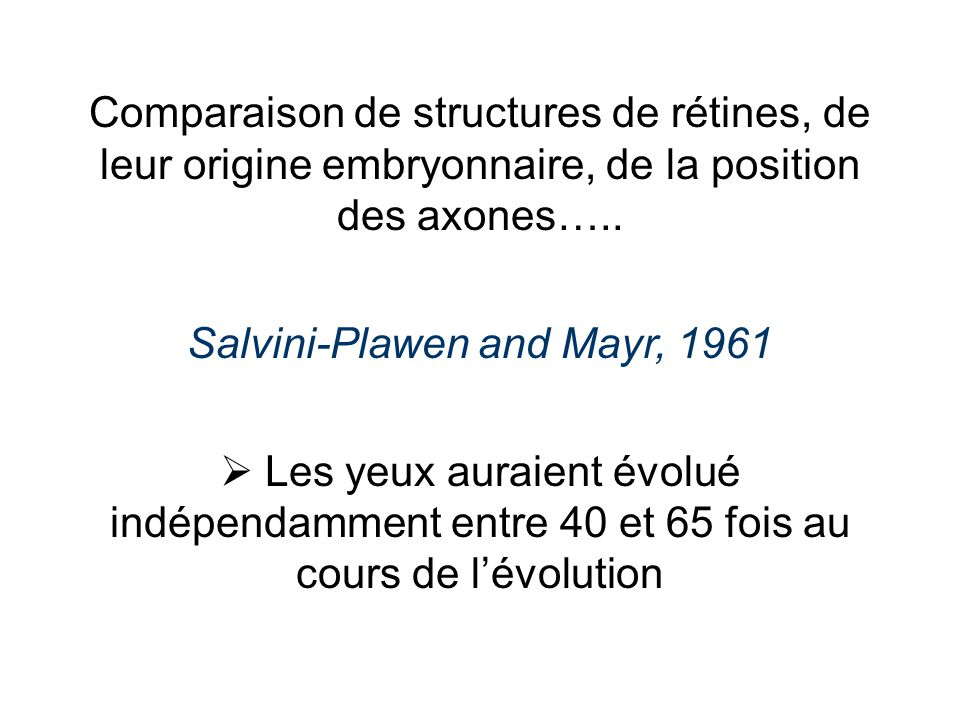 Salvini-Plawen and Mayr, 1961