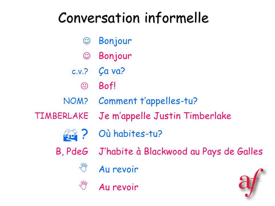 Conversation informelle
