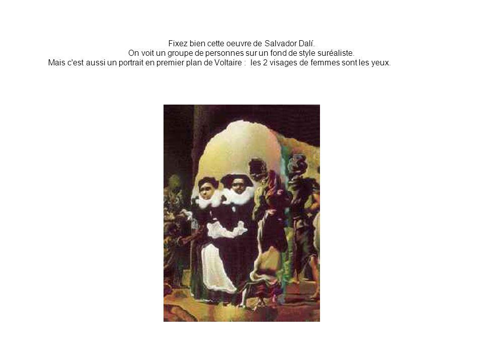 Fixez bien cette oeuvre de Salvador Dalí