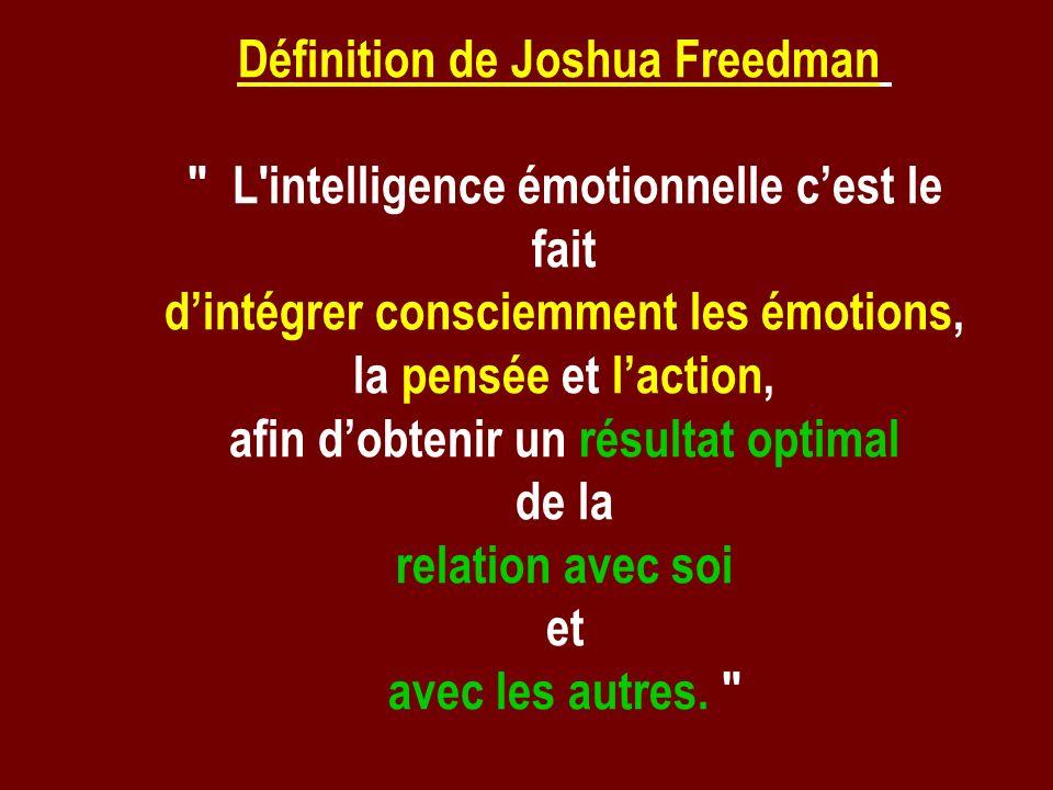 Définition de Joshua Freedman