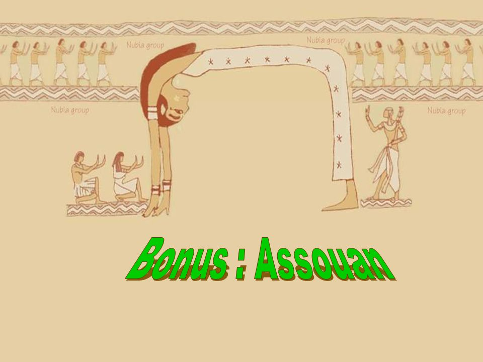 Bonus : Assouan