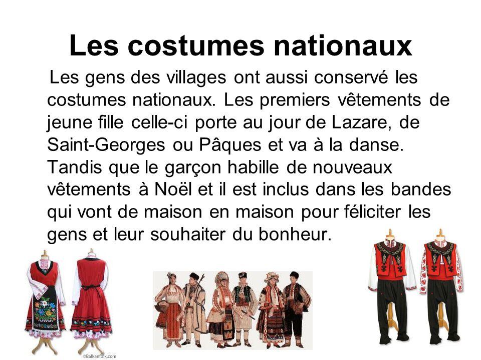 Les costumes nationaux