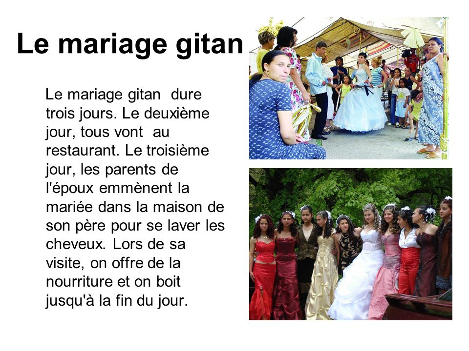 Le mariage gitan