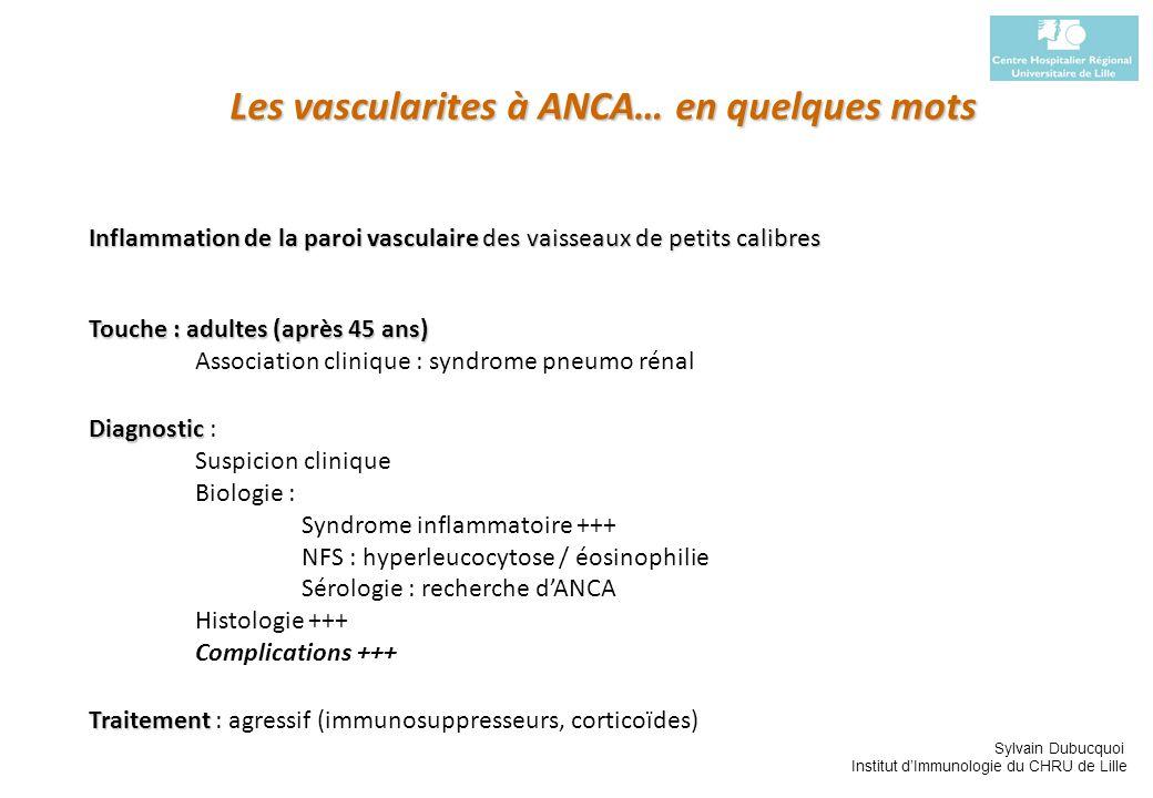 Les vascularites à ANCA… en quelques mots