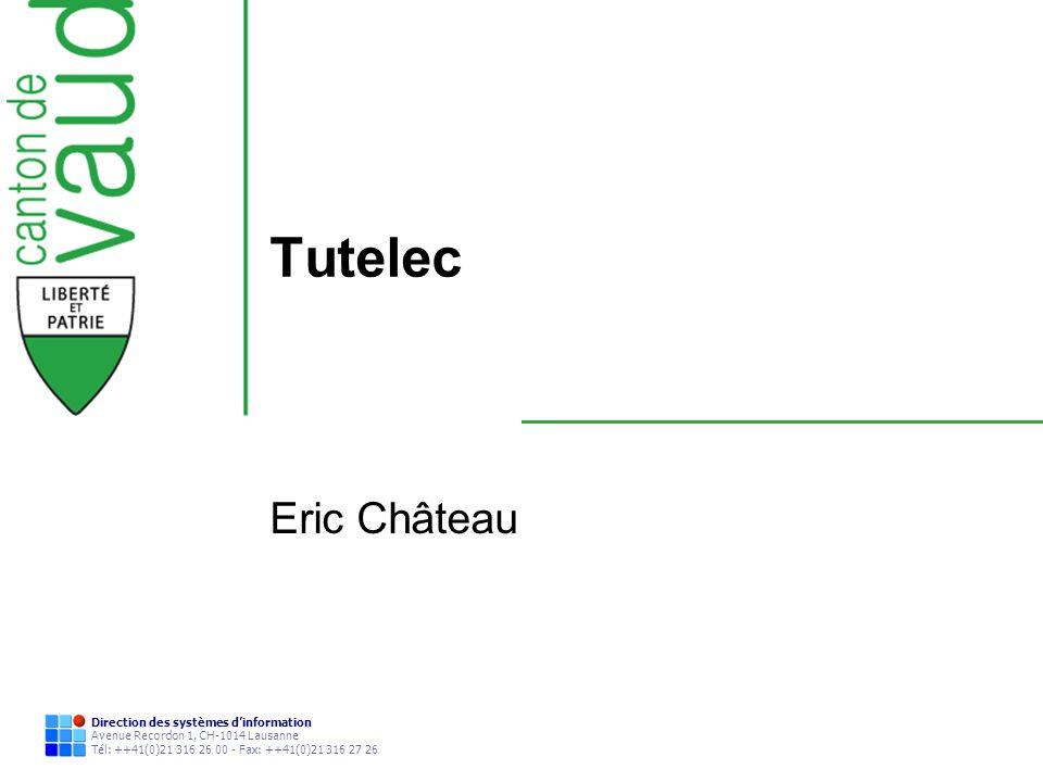 Tutelec Eric Château