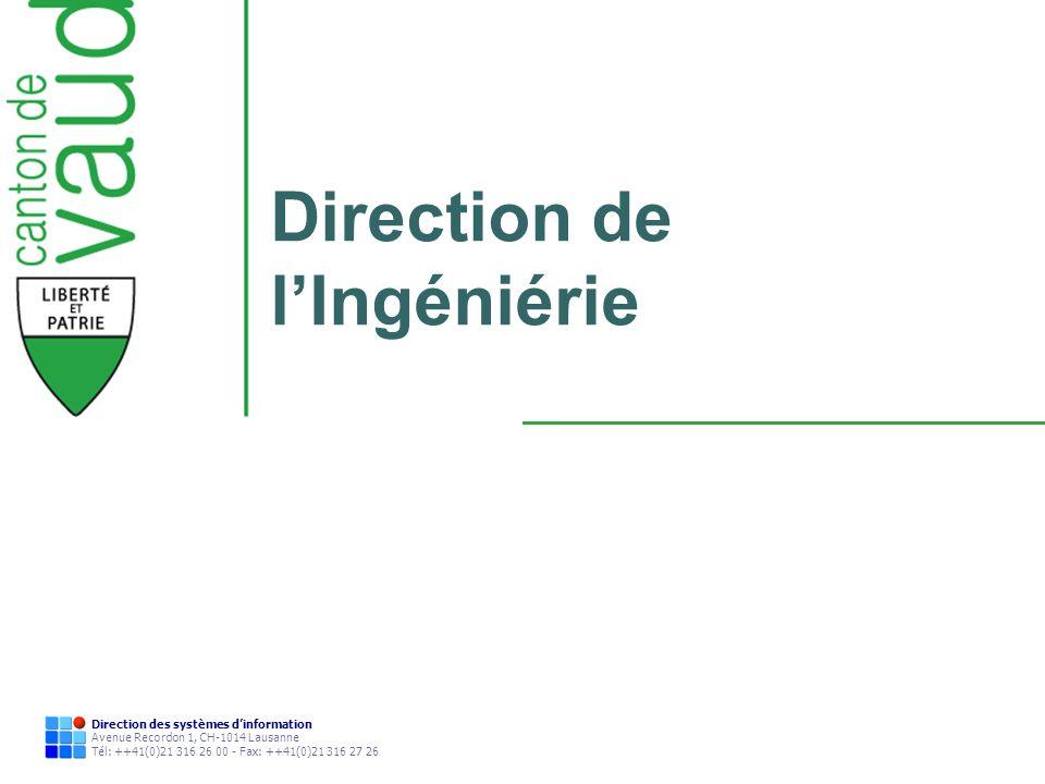 Direction de l'Ingéniérie