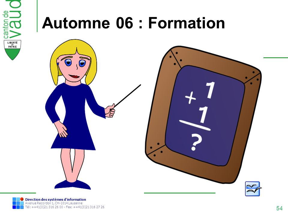 Automne 06 : Formation