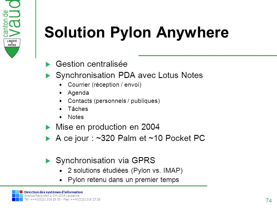 Solution Pylon Anywhere