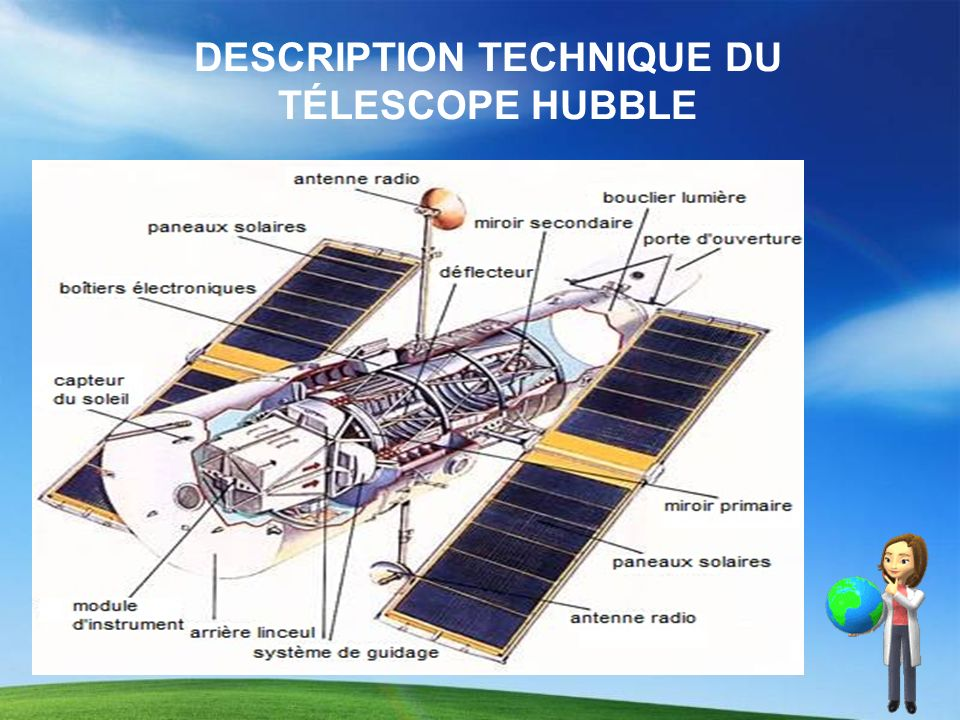 DESCRIPTION TECHNIQUE DU TÉLESCOPE HUBBLE