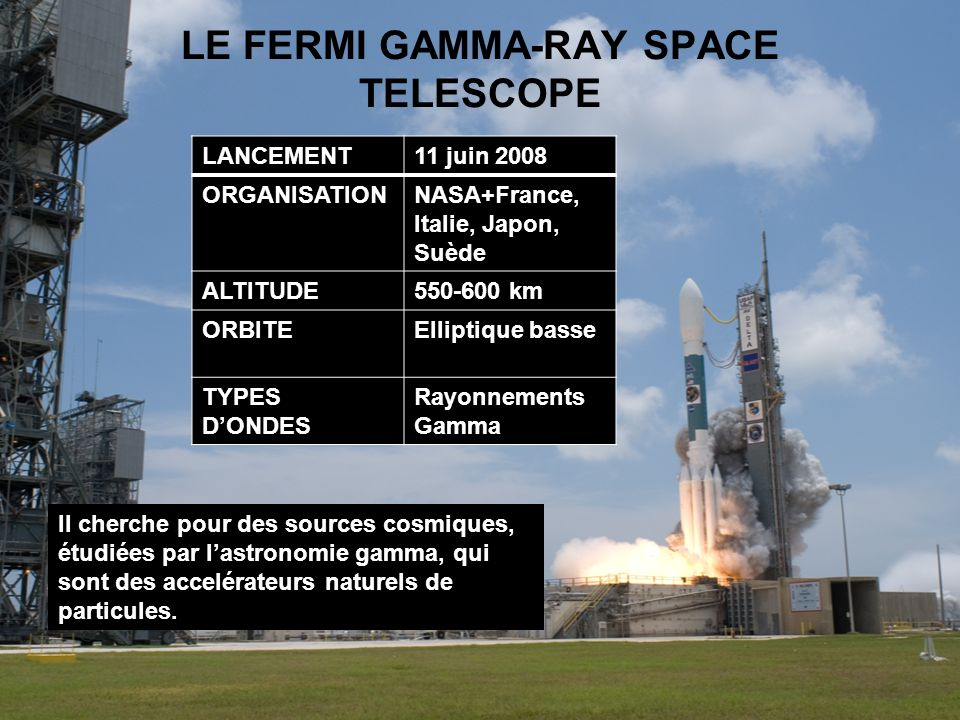 LE FERMI GAMMA-RAY SPACE TELESCOPE
