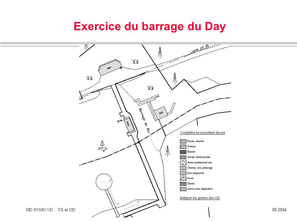 Exercice du barrage du Day